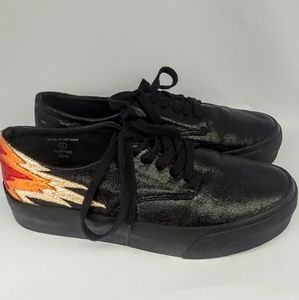ASOS Shoes - ASOS Dreamy Flame Lace Up Sneakers